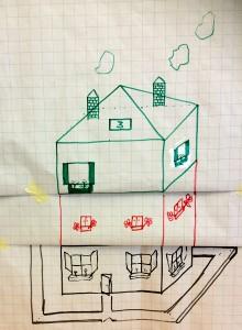 Een voorbeeld van een huis samenwerkingsoefening | LaCretio