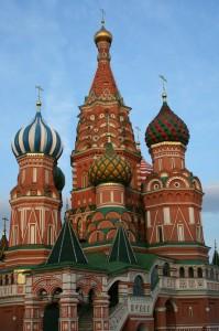 Russische-orthodoxe kerk Moskou